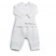 Mamas & Papas Комплект 2 части боди и панталон Jersey