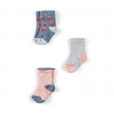 Mamas & Papas Комплект 3 чифта чорапи Strawberry