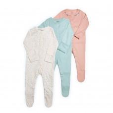 Mamas & Papas Комплект 3 броя гащеризони Sleepsuits
