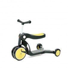 Chipolino Детска играчка скутер 4в1 ALL RIDE жълт