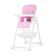 Chipolino Столче за хранене Банди розово