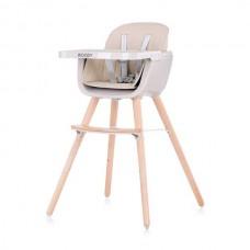 Chipolino Столче за хранене 2 в1 Woody мока