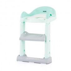 Chipolino Тоалетна седалка със стълба Типи -зелена