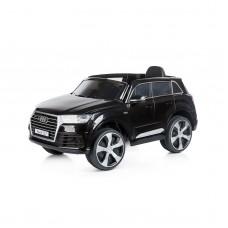 Chipolino Eл. джип AUDI Q7, меки EVA гуми, черен