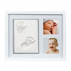 Pearhead Рамка за снимки и глинени отпечатъци White