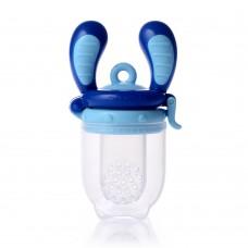 Биберон за храна 4м+ размер М - Aquamarine