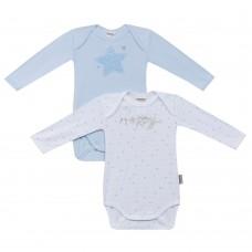 2 бр. Бебешки бодита с дълъг ръкав