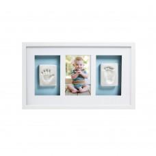 Луксозна рамка за снимка и отпечатък - бяла