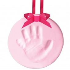 Бебешки спомен - отпечатък  - розов