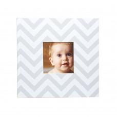 Бебешки албум за снимки - бял