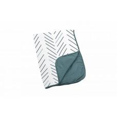 Памучно одеяло - Dream - Ethnic Petrol - 75x100см