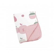 Памучно одеяло - Dream - Fruit Pink - 75x100см